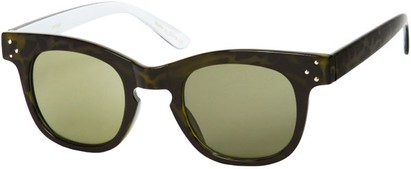 green celebrity sunglasses