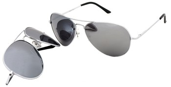 SW Mirrored Aviator Style #1690